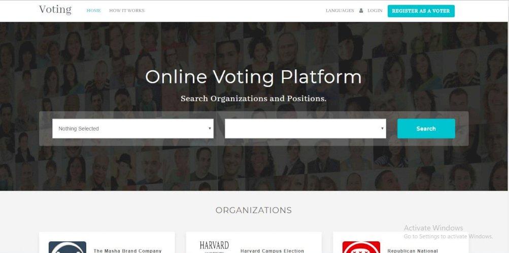 Voting v3.0 - Online Voting Platform