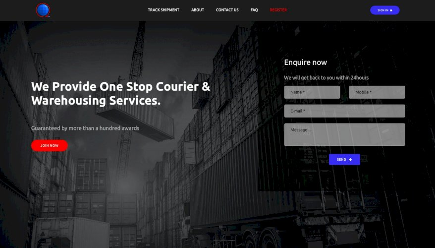 COURIER DROP SHIPPING TRACKING LOGISTIC DELIVERY SYSTEM