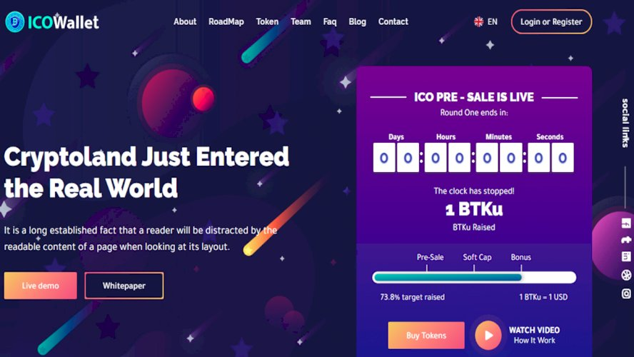 Complete ICO Software and Token Launching Solution