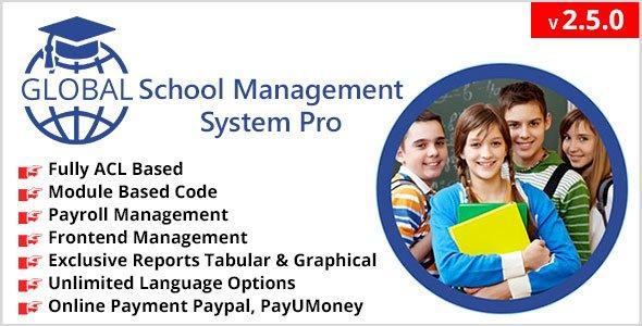 Single School Management System Pro