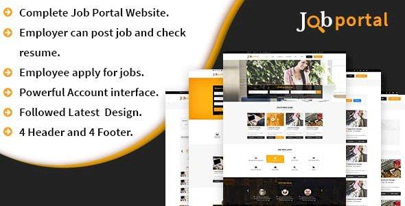 A complete Job portal script