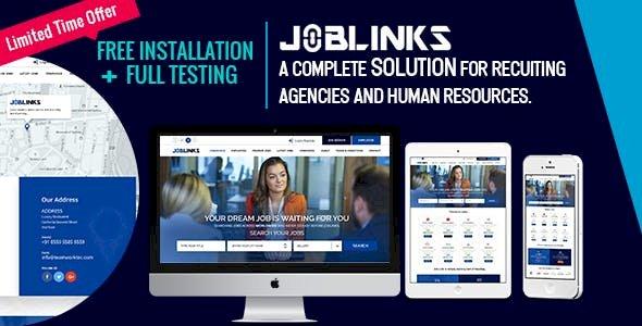 Job Links - Complete Job Management System