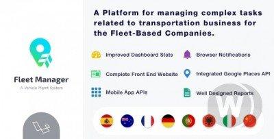 Fleet Manager v4.0.3--- Vehicle Management & Booking System