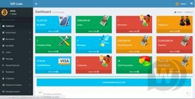 Bank and Advance Loan Management System - credit management
