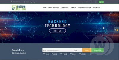 Hosting Billing - billing system for hosting and domains