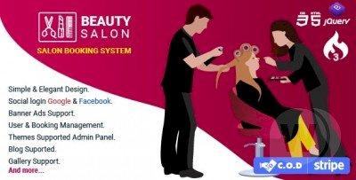Salon Booking Management System v1.3
