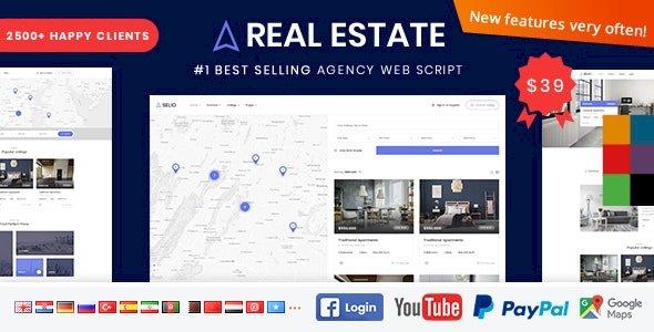 Real Estate Agency Portal  Script v1.6.8