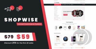 Shopwise - Laravel Ecommerce Script